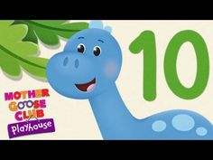 Ten Little Dinosaurs - Mother Goose Club Playhouse Kid Song (treehouse kids classroom) Dinosaur Songs, Dinosaur Theme Preschool, Dinosaur Activities, Preschool Songs, Preschool Letters, Preschool Classroom, Kids Songs, Preschool Activities, Kindergarten