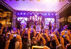Photos from the free Summer Concert Series at The Grove presented by Citi featuring BACKSTREET BOYS.