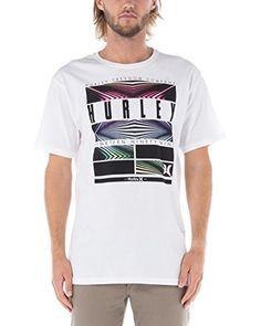 Nike Hurley T-Shirt Hemisphere Block Out [wei脽]