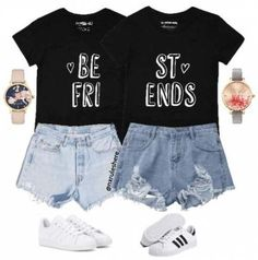Ideas Funny Shirts For Girls Bff Bffs Best Friend T Shirts, Bff Shirts, Best Friend Outfits, Best Friend Gifts, Shirts For Girls, Best Friends, Matching Outfits Best Friend, Funny Disney Shirts, Funny Shirts