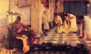 The Favourites of the Emperor Honorius 1883  by John William Waterhouse