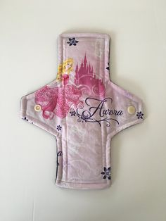 Cloth pad - Disney Princess Aurora Sleeping Beauty on Etsy #clothpads