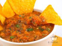 Sos de legume mexican (Salsa Ranchera) Mexican Salsa, Tzatziki, Curry, Dinner, Cooking, Hot, Ethnic Recipes, Friends, Sweet Treats