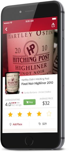 Scan any bottle to learn all about the wine inside. Hitching Post, Wine And Beer, Wine And Spirits, Beer Lovers, Pinot Noir, Wines, Helpful Hints, Shot Glass, Apps