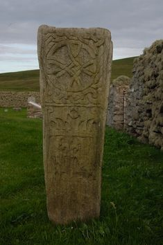 The Bressay Stone was found accidentally by a labourer in approx 1851