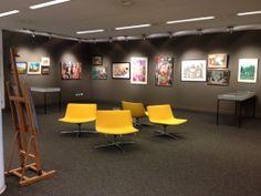 Expositieruimte bibliotheek Helmond