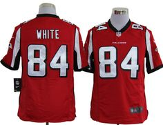 NFL Jersey's Women's Atlanta Falcons Roddy White Nike Red Game Jersey