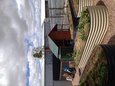 Love this veggie garden and chook yard