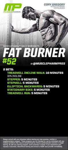 #musclepharm fat burner workout