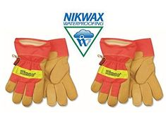 Kinco Work Gloves High Visibility - 1938-M (2-pack) with Nikwax Waterproofing #Kinco #Work #Gloves #High #Visibility #pack) #with #Nikwax #Waterproofing