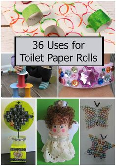 36 Uses for Toilet Paper Rolls
