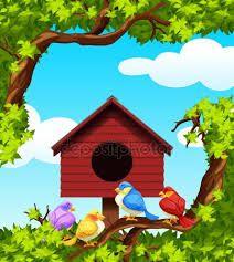 Resultat De Recherche D Images Pour صور عصافير للخلفية Decor Bird House Outdoor Decor