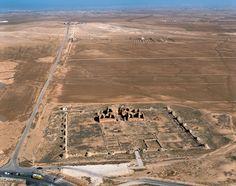 Qasr o Qusayr Mushatta. A 30 Km. de Amman (Jordania), siglo VIII. Probablemente construido por el califa omeya Walid II.