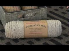 Lion Brand's Fishermen's Wool Yarn ~ some lovely 'natural' colours here, all you would want (except navy blue).