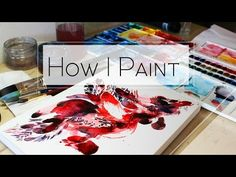 STRESS Free Approach to Painting Watercolors - YouTube