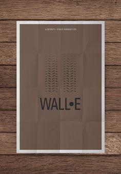 wall-e creative movie poster