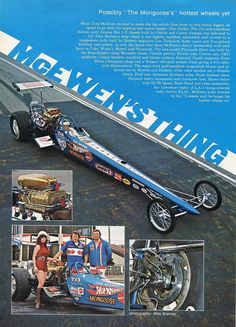 1972 Mongoose Dragster