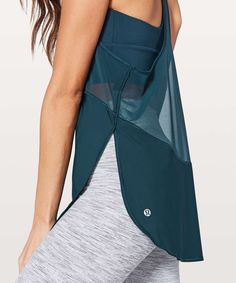 Lululemon Twist Around Tank - Jaded