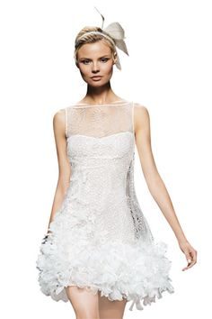 Pronovias by Manuel Mota  great reception dress