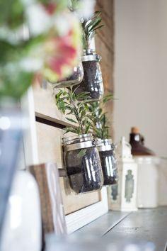 Mason Jar Plant Hold