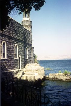 Tabga on the Sea of Galilee  Israel  Where Jesus performed the Miracle of the loaves and fishes.