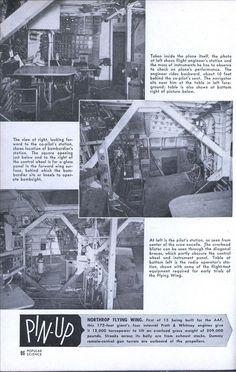 Inside the Flying Wing | Modern Mechanix