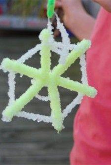 Snow flake preschool Craft