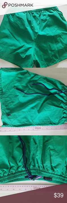 Polo Sport swim suit green with blue polo and ties Polo Sport swim suit, green with dark blue polo and ties, measurements are in the pictures. New with tags, also in the pictures, this is great for trips to the beach not to mention the pool. Check out our other new w/tags Polo Sport swim wear. Polo Sport  Swim Swim Trunks