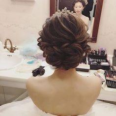 いいね!783件、コメント24件 ― Yukiko Hattoriさん(@ceu0116)のInstagramアカウント: 「. . バックスタイルも、毛流れを大切に。 . 式のスタートの清楚感には、 . ルーズの中に艶を。 . .…」