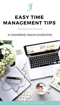 We all have 24 hours in a day, how can we use them more effectively? Here are 3 easy time management tips to be healthier and more productive.