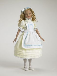 In the Nursery Alice from Alice in Wonderland Collection - Tonner Doll Company Effanbee Dolls, Barbie Dolls, Kingston, Alice In Wonderland Doll, Fairy Tale Costumes, Disney Dolls, Carters Baby Boys, Barbie And Ken, Vintage Dolls
