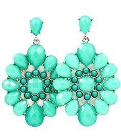 mint earrings.#Repin By:Pinterest++ for iPad#