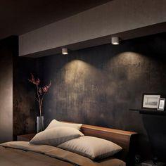 Philips myLiving LED-spotlight Phase W wit 533003116 Romantic Bedroom Design, Modern Bedroom Design, Lampe Spot, Small Balcony Decor, Minimal Bedroom, Spot Led, Philips, Bedroom Lighting, Downlights