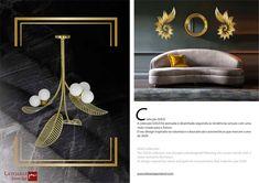 GOLD collection from LATOARIA PONTE ROL: www.latoariaponterol.com Portuguese, Magazine, Lighting, Gold, Collection, Design, Light Fixtures, Magazines, Lights