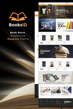 Magento Theme , BooksID - Book Store