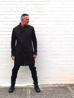 Men's Black Cotton Jacket