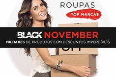 Não deixe de conferir as promoções de roupas, calçados e acessórios da Black November Zattini. São milhares de produtos com preços incríveis.