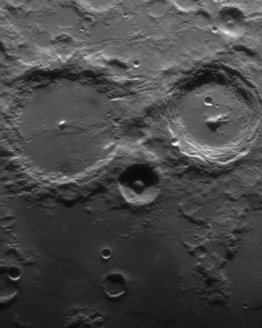 Point your telescope at tonight's first quarter Moon. Along the terminator, the shadow line between night and day, you might find these two large craters staring back at you with an owlish gaze. . . . . Credit & Copyright: Noel Donnard . . . . #apod #moon #crater #space #science #perspective #solarsystem #moon #sun #jupiter #saturn #sizecomparison #planets #earth #cosmos #astrophysics #astroworld #nightphotography #photography #deepspace #spacex #nebula Nasa Pictures, Astronomy Pictures, Space Photography, Night Photography, Planet Video, Explanation Writing, Galaxy Photos, Planets And Moons, Moon Photos