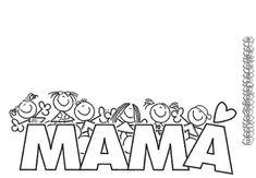 Montessori Activities, Craft Activities, 8 Martie, Page Borders, Mothers Day Crafts, Kindergarten, Parents, Teaching, Printable