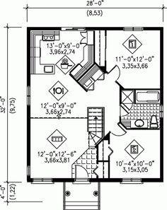 planos de minidepartamento de un piso - Buscar con Google