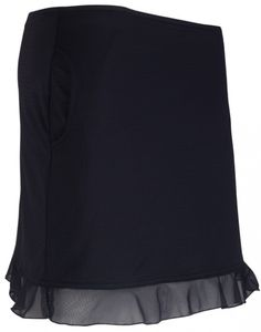 "Ignite (Black) Bette & Court Ladies 16"" Flip Pull-on Cool Elements Golf Skort available at #lorisgolfshoppe"