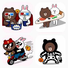 Cony & Brown Cony Brown, Cute Love