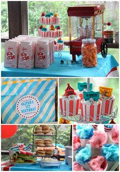 Olivers First Birthday A Circus Party