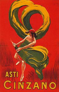 Vintage Asti Cinzano Poster