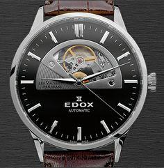edox watch | watches from edox edox class 1 wave rider regulator watch line edox ...