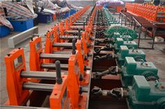 Today we learn about the #high #quality #automatic #LM #Steel #Shelve #Pillar #Roll #Forming #Machine. Our engineer can design the Steel Shelve Pillar Roll Forming Machine by customer's request, with a profile drawing and thickness.  The main frame of our Steel Shelve Pillar Roll Forming Machine is powerful bull style, which is our company own patent. It can formed the high precision metal sheet.