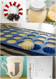 Quick, Easy, and Inexpensive Last Minute DIY Gifts. Want to make the soap/lotion bars