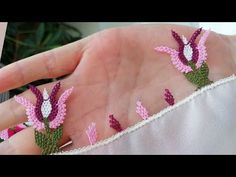 Needle Lace, Lace Flowers, Embroidery Stitches, Lily, Make It Yourself, Create, Blog, Friends, Youtube