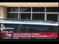 Fiscalia interroga jovenes involucrados Riña Bar la Chimosa #Video - Cachicha.com