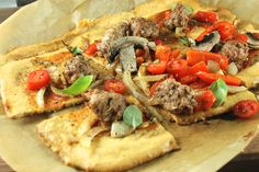 Paleo Pizza Recipe - Paleo Plan I would have to substitute for the almond products but doable for current diet